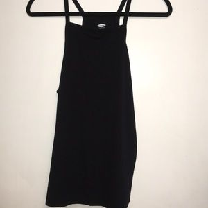Old Navy Women's Black Tank Top Large NWT